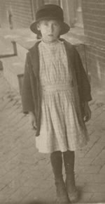 Mary G. Engle, ca. 1917  Manor Street, Lancaster, Pa.  Mary G. Engle was the mother of Mary Lynn Richardson.